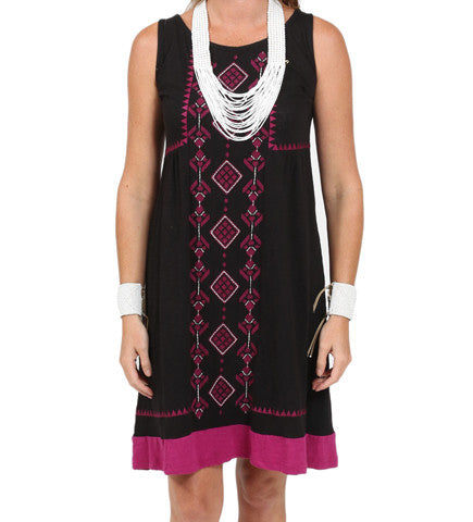 Mia Embroidered Knit Dress