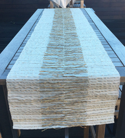 Open Root  Vetiver Table Runner