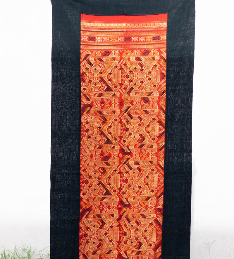 Thai Wall Hanging: Vibrant Red