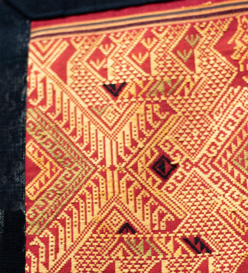 Thai Wall Hanging: Golden Red