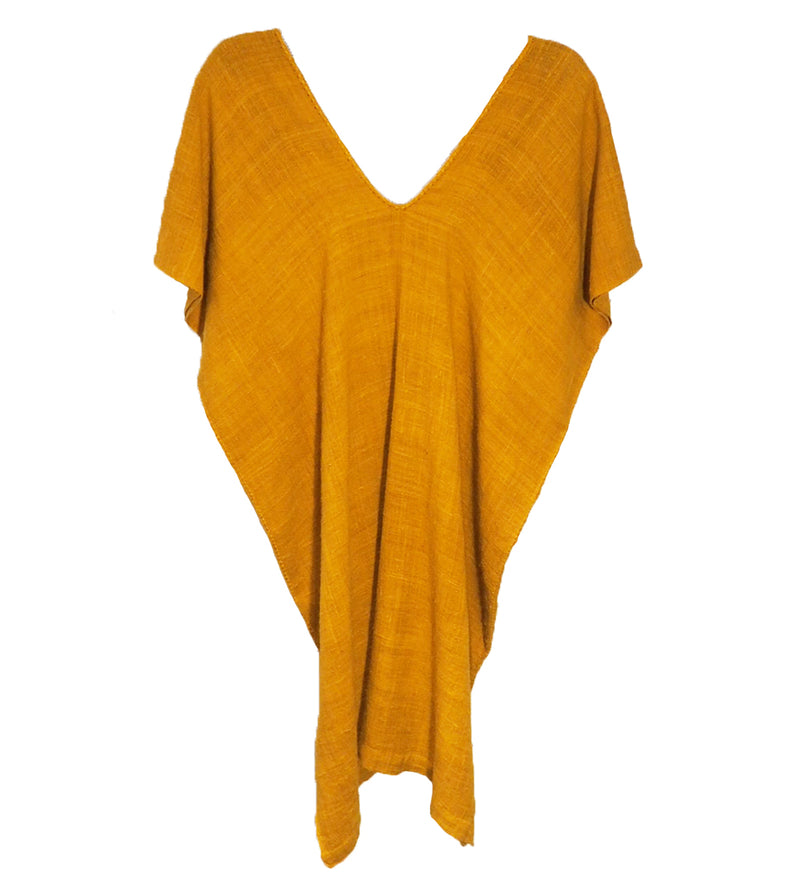 The Oaxaca Dress: Mustard