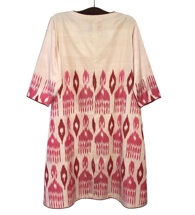 The Samarkand Dress: Pink
