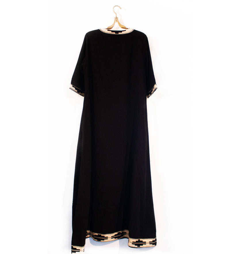 The Sindh Dress: Black Long