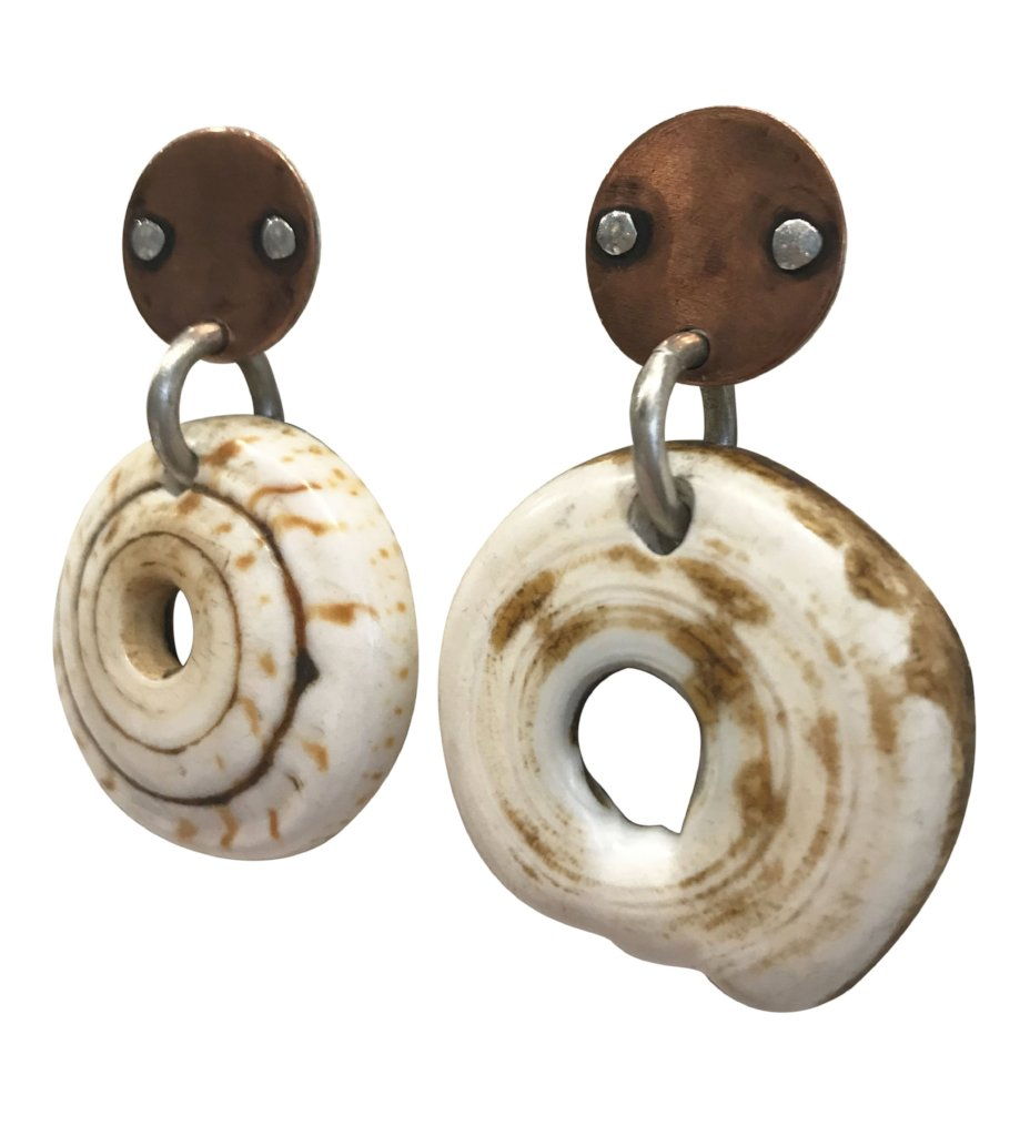 Tiger Shell Earrings