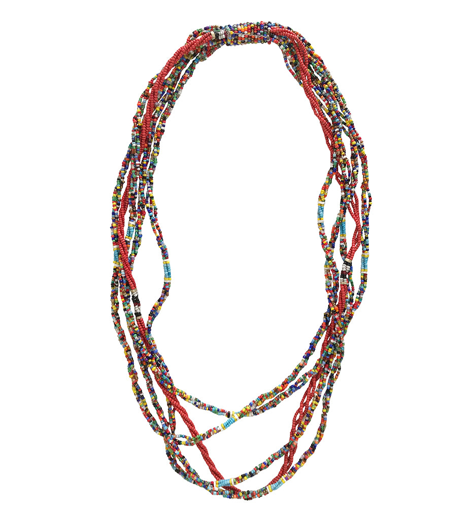 Maasai Beaded Warrior Necklace