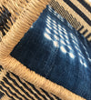 Woven Dog Bed with Vintage Indigo