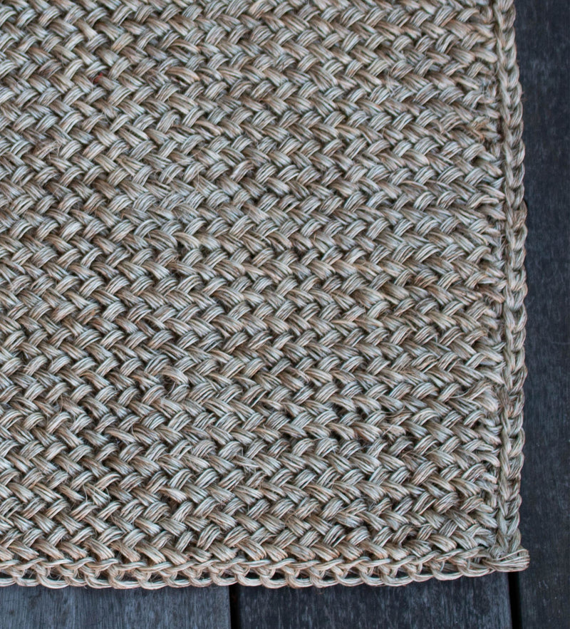Woven Door Mat: Natural
