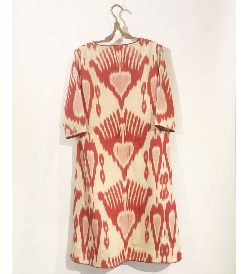 Zehra Ikat Swing Dress