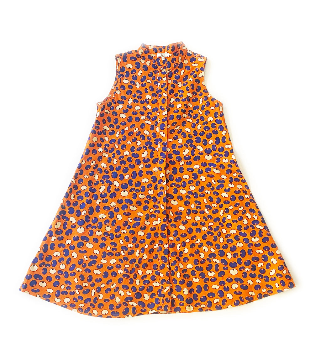 Zuri Swing Dress: The Eyes Have It