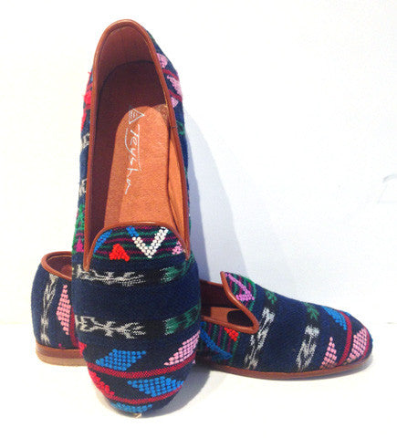 Fiesta Smoking Slippers: Multi