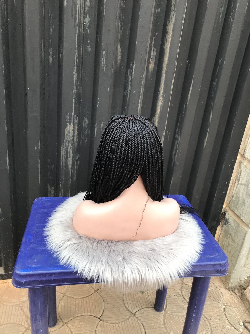 Wig Ella (2). (Boho box braids)