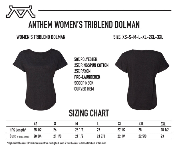 American Made NO BULL - Women's Flow Tee