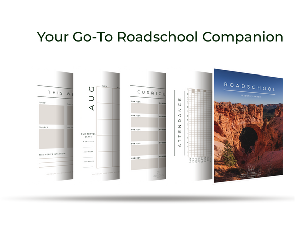 Roadschool Planner | Digital Download **Now Free!