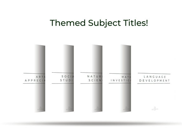 Roadschool Subject Titles Pack