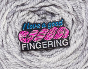I Love A Good Fingering - Black