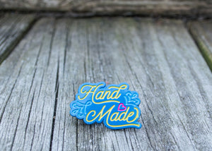 I Made This! - Handmade - Bright Blue