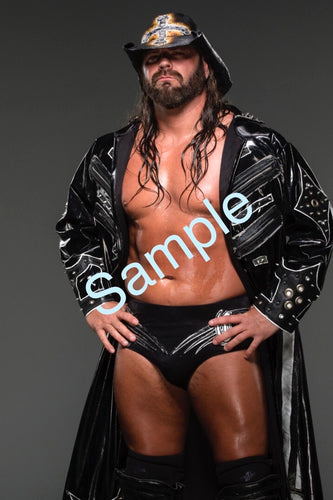 Personalized Autographed James Storm 8X10