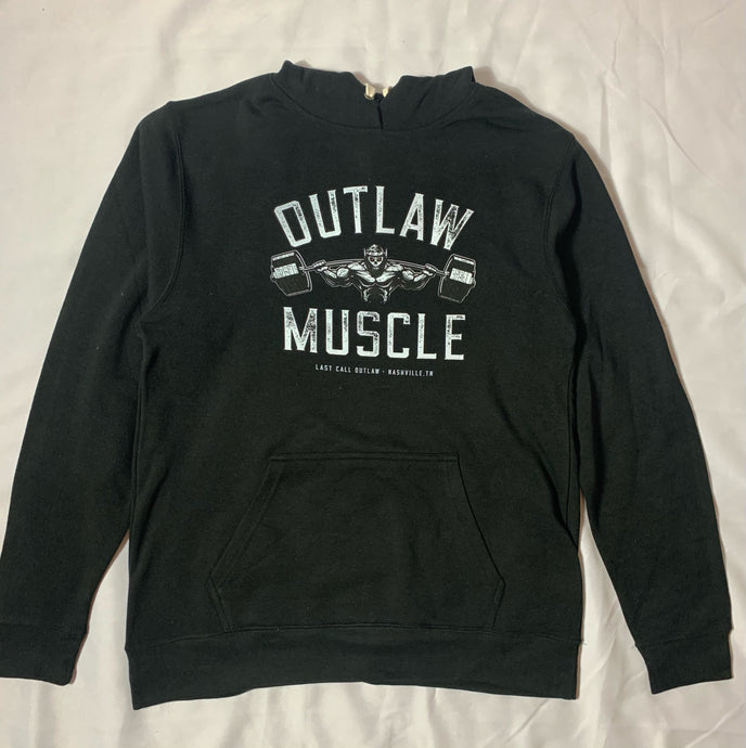 Outlaw Muscle Pullover Hoodie