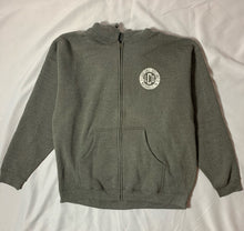 Load image into Gallery viewer, LCO gray zip hoodie