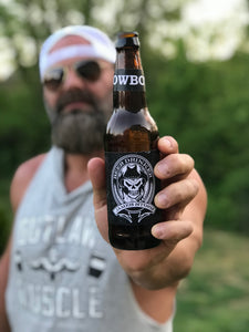 Autographed Cowboy Beer Bottle - Limited Edition