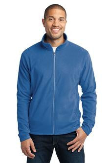 Embroidered National Federation of the Blind - Mens Microfleece Jacket