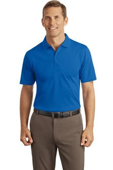 Embroidered National Federation of the Blind - Mens Silk Touch™ Interlock Polo