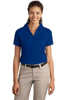 Embroidered National Federation of the Blind - Ladies Silk Touch™ Interlock Polo