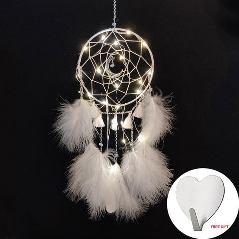 Dream  Catcher Light White