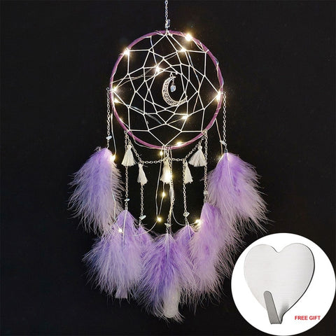 Dream  Catcher Light Purple