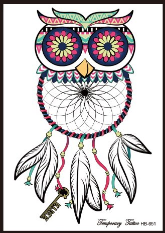 Dream Catcher Tattoo Super Owl