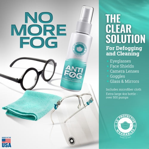 Copy Of Face Shield & Glasses Cleaner With Premium Microfiber Cloth Special2