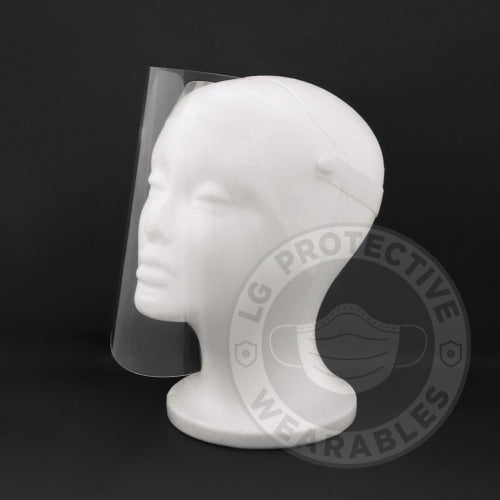2 Pack- Protective Face Shields With Flip-Up Design Shield