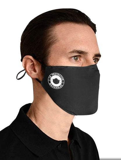 Premium 3Ply Cotton Fitted Face Mask (W/ Replaceable Filter)