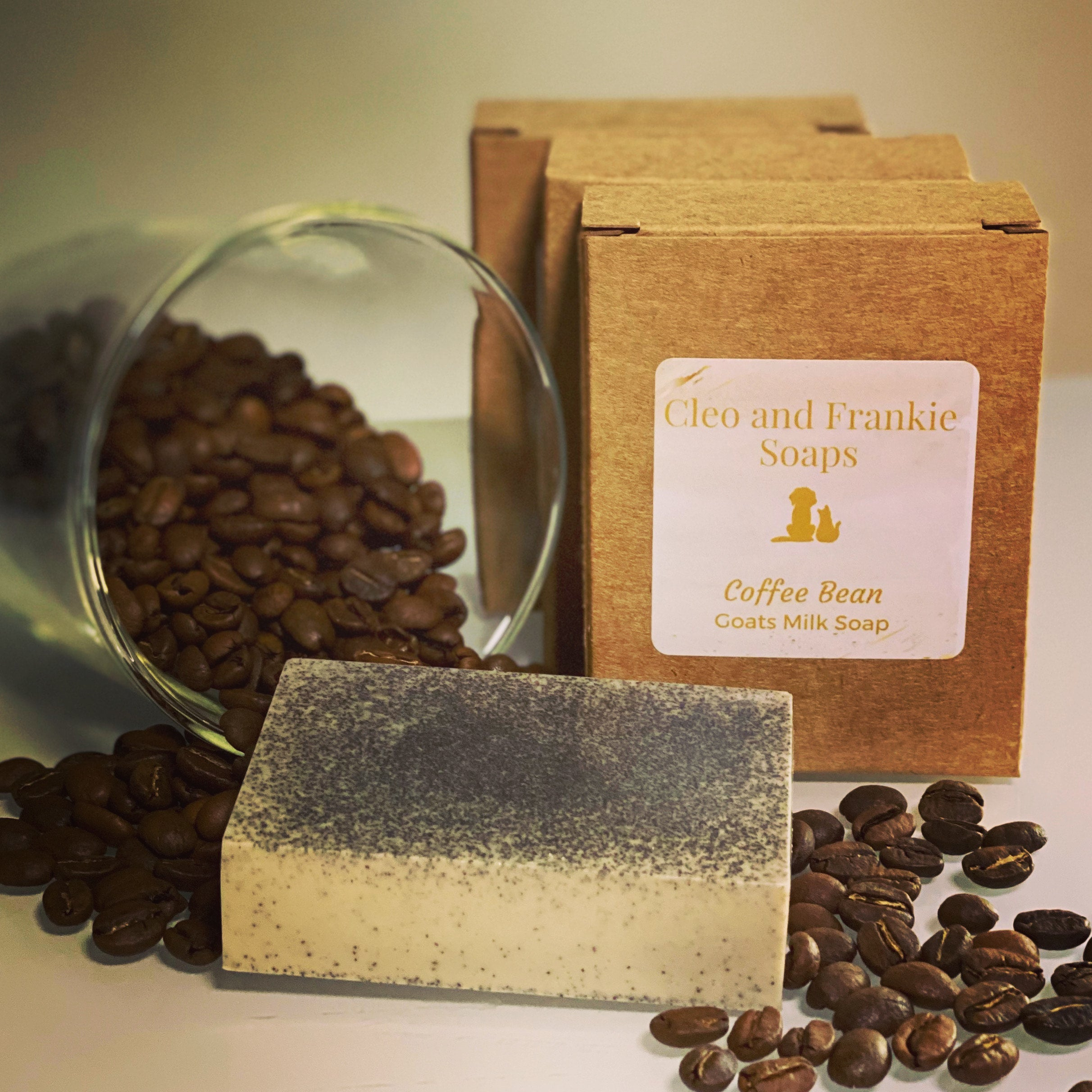 Coffee Bean Goats Milk Soap