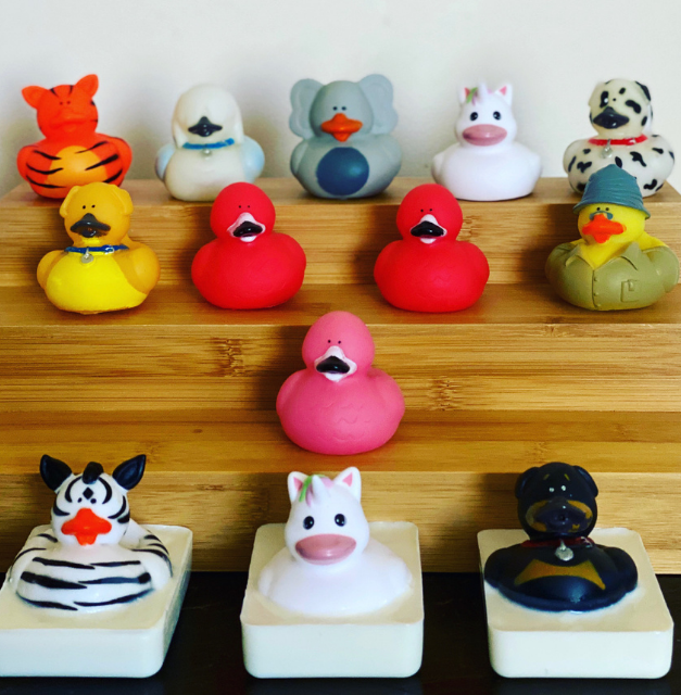 Novelty Ducky Soaps