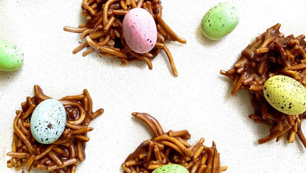 High Protein Chocolate  Easter Nests-VPA Australia
