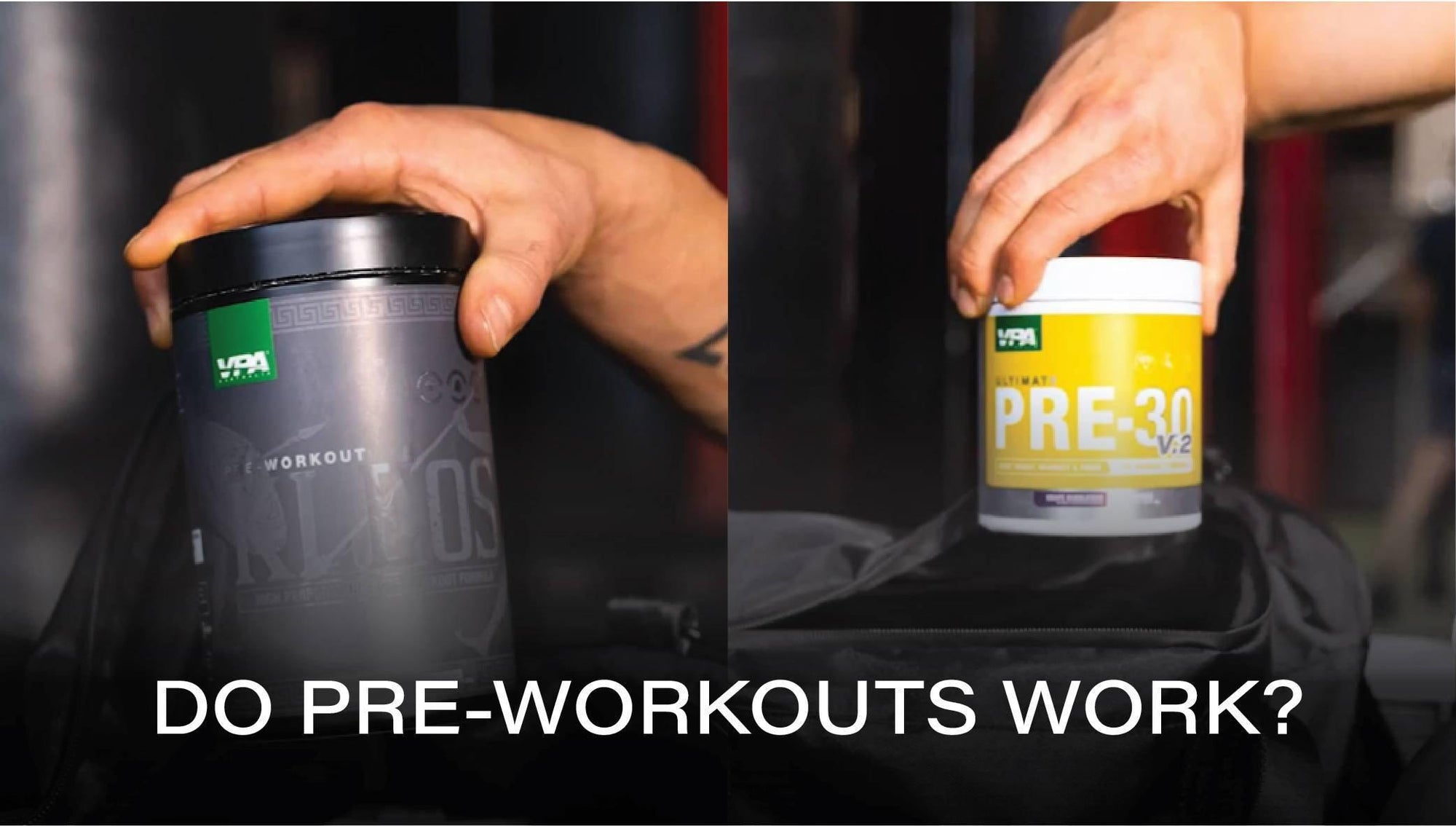 Pre-workouts don't work – debunking the myth.-VPA Australia