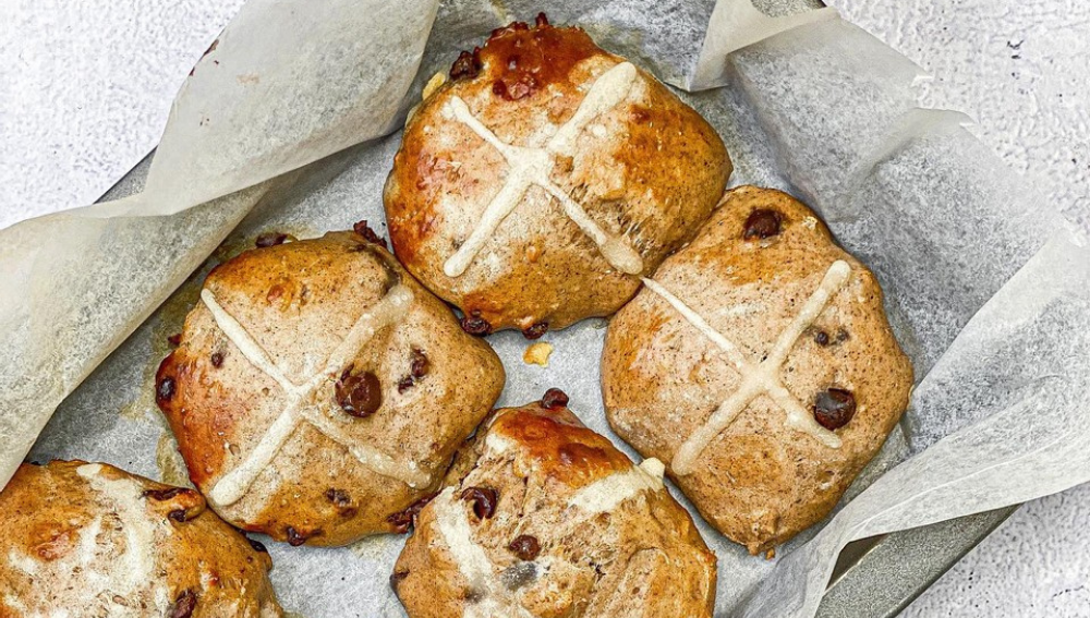 Protein Hot Cross Buns-VPA Australia