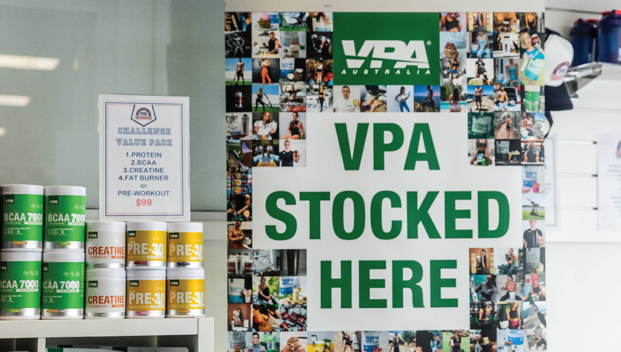 How to sell VPA supplements in your gym