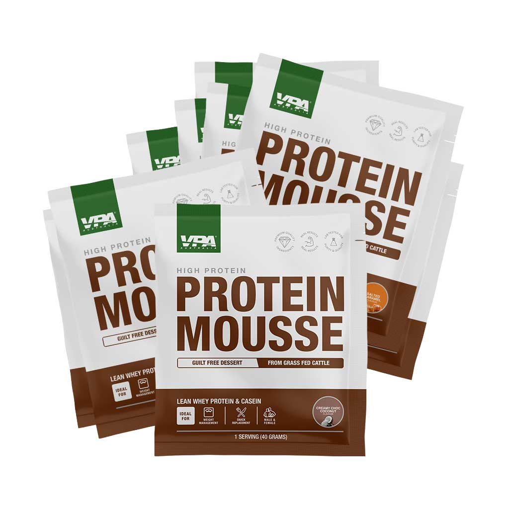 Protein Mousse (Variety Pack - 9 Sachets)-VPA Australia