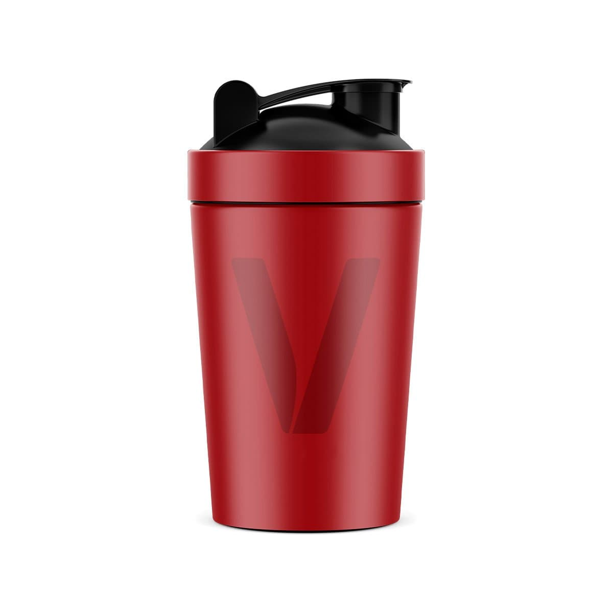 Limited Edition Red 'V' Stainless Steel 600ml Shaker