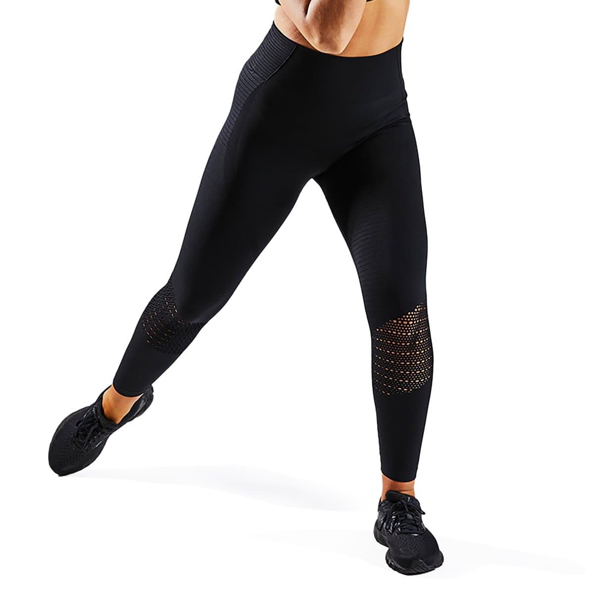 Vital Seamless Leggings - Black-VPA Australia