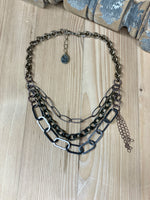 Urban Metal Short Necklace