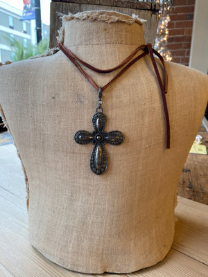 Deer Skin Leather Necklaces