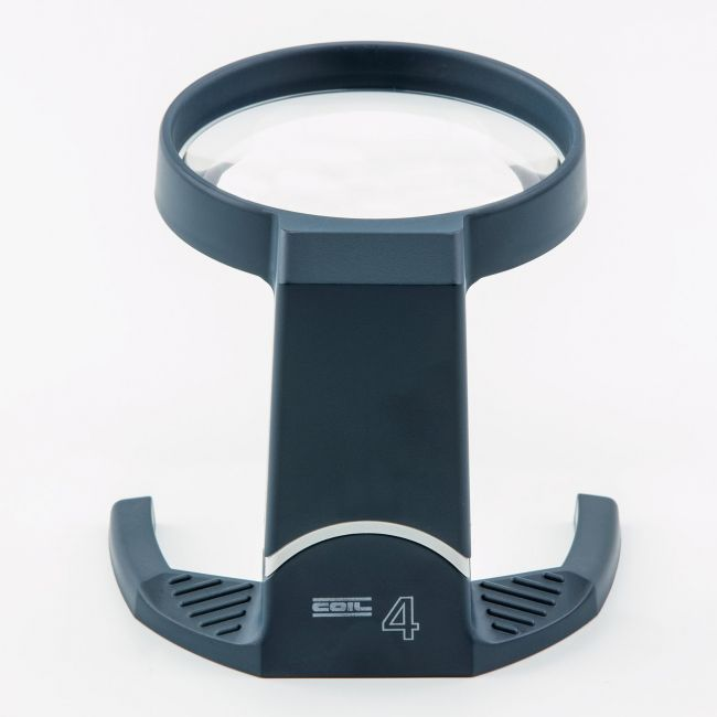 Coil Stand Magnifier with Tilting Frame