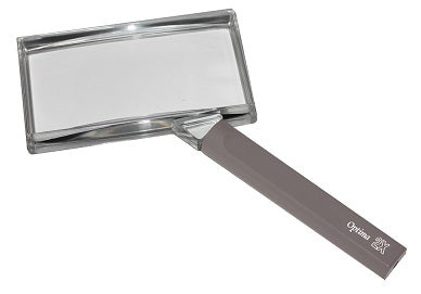 Optima 2x Rectangle Hand Magnifier
