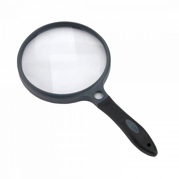 Carson SureGrip 2x Hand Magnifier with 10x Spot Insert