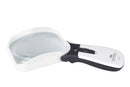 Schweizer ERGO Mobil Angled Head (Right) LED Illuminated Hand Magnifier (2x,2.5x)