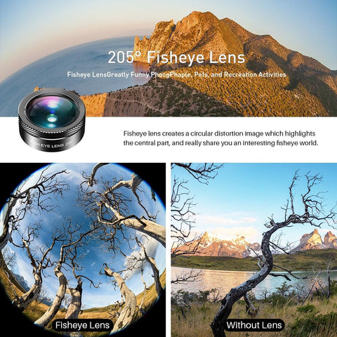 Phone Camera Lens Creative Package Fisheye Angle