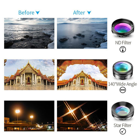 Phone Camera Lens Creative Package Lenses View
